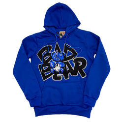 Retro Label Bad Bear Hoodie (Retro 3 Blue Cement)