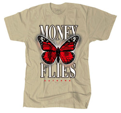 Outrnk Money Flies Tee (Tan)