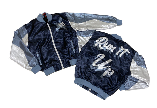 Retro Label Run it up Jacket (Retro 13 Flint)