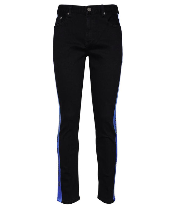 Homme Femme Tesla Denim Black (Blue Gradient)