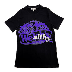 Retro Label Wealthy Shirt (Retro 12 Dark Concord)