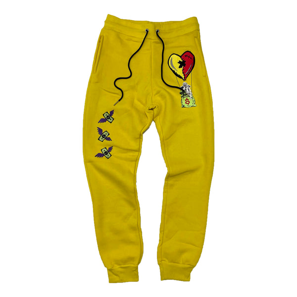 Retro Label Hot Air Joggers (Retro 5 What The)