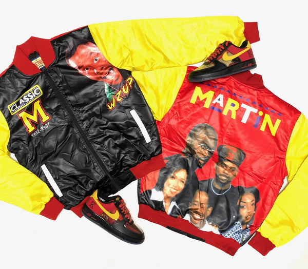 Retro Label MARTIN 90's Bomber Jacket