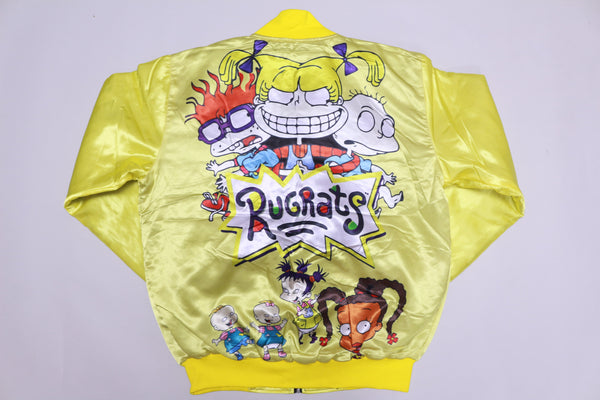 Retro Label Rugrats Bomber Jacket (Lemon)