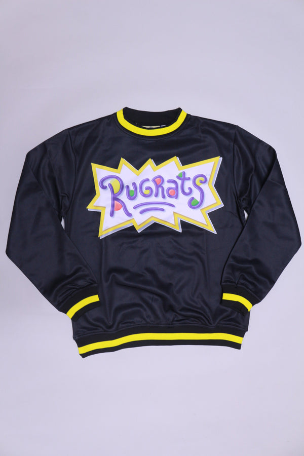 Retro Label Rugrats Crewneck (Black)