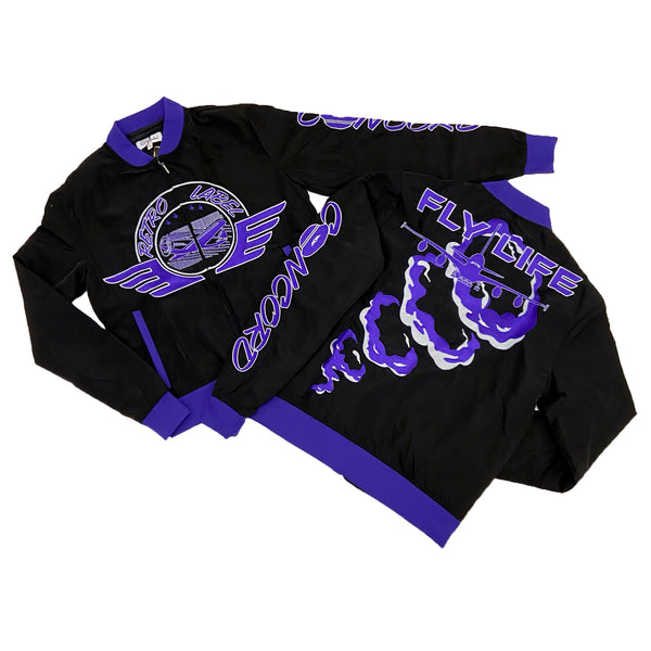 Retro Label Fly Life Jacket (Retro 12 Dark Concord)