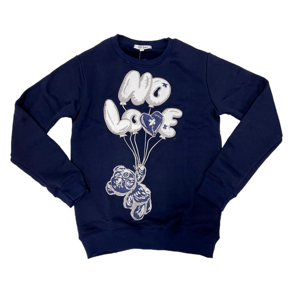 Retro Label No Love Air Crewneck (Retro 3 Georgetown)