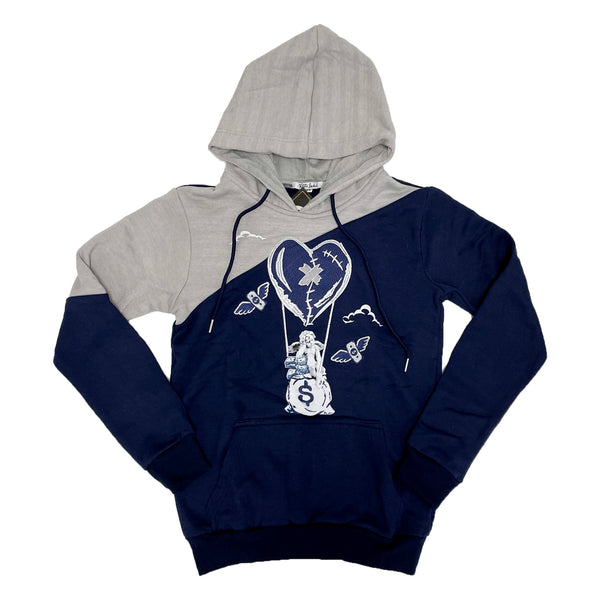Retro Label Hot Air Hoodie (Retro 3 Georgetown)