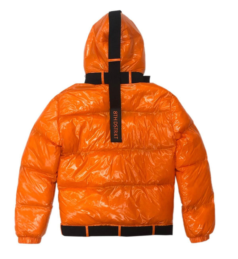 8TH DSTRKT Bubble Jacket (Orange)