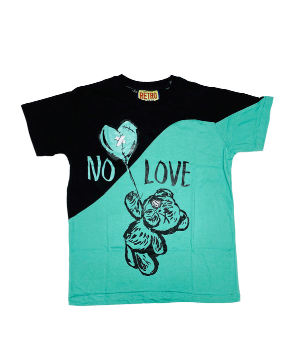 Retro Label No Love Shirt (Retro 13 Island Green)