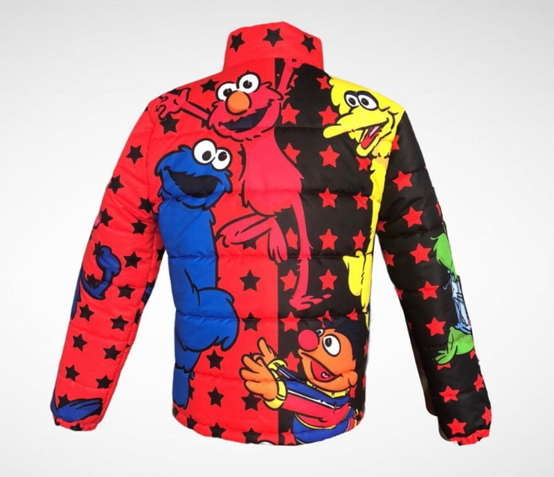 Kryptic Sesame St (Black/Red)