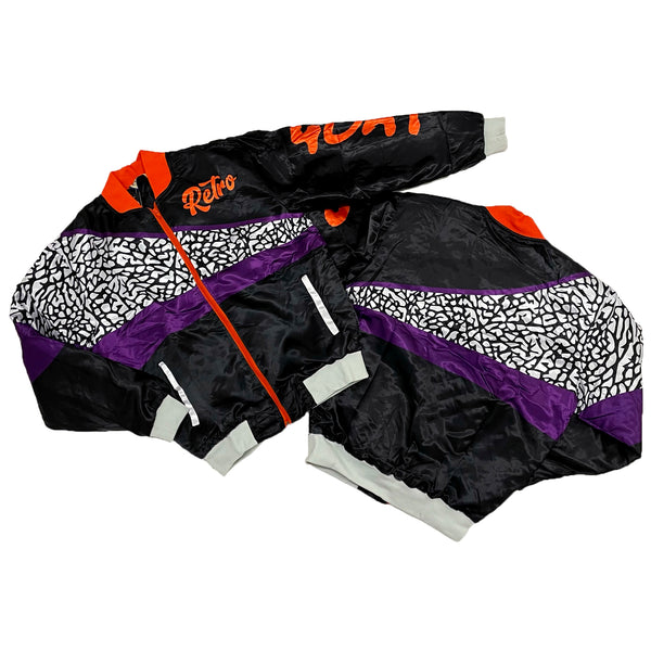 Retro Label Retro Goat Jacket (Retro 3 Court Purple)