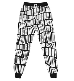 Billion Dollar Baby AOP Jogger (Black/White)
