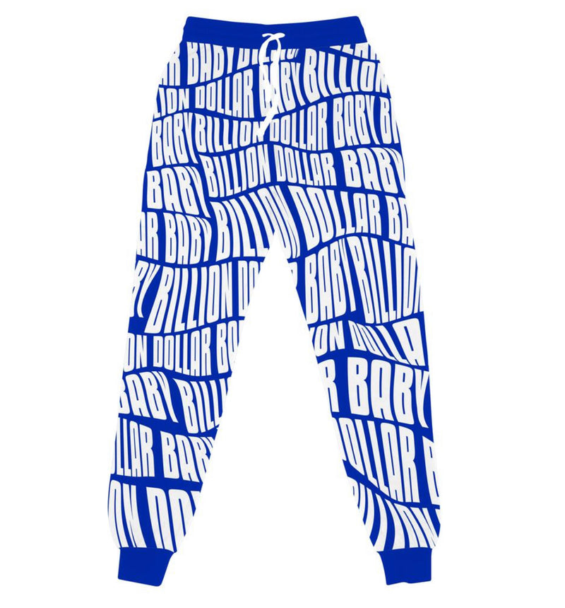 Billion Dollar Baby AOP Jogger (Blue/White)