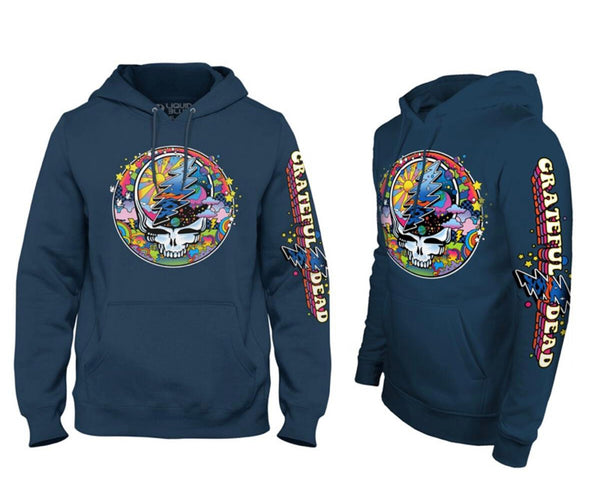 Liquid Blue Grateful Dead SYF MAX Hoodie (Navy)