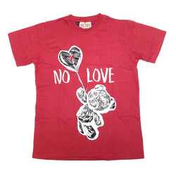 Retro Label No Love Shirt Red (Retro 9)