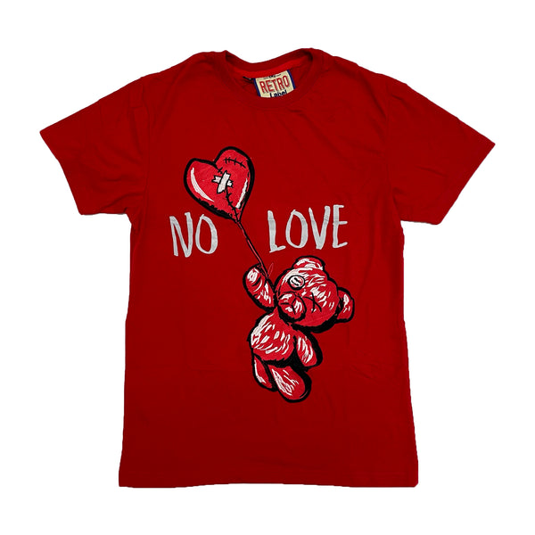 Retro Label No Love Shirt (Retro 4 Fire Red)