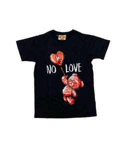 Retro Label No Love Shirt (Retro 11 Black)
