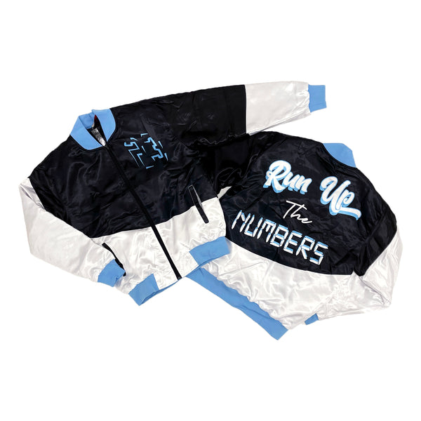 Retro Label Run up the Numbers Jacket (Retro 9 University Blue)