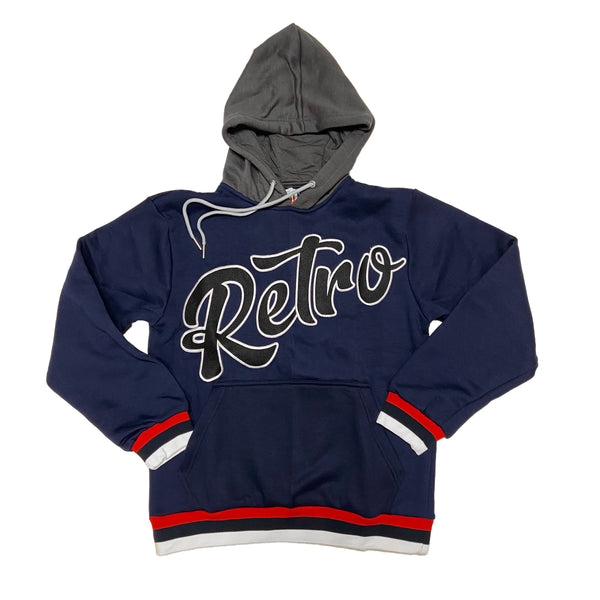 Retro Label Retro Hoodie (Winter Loyal)