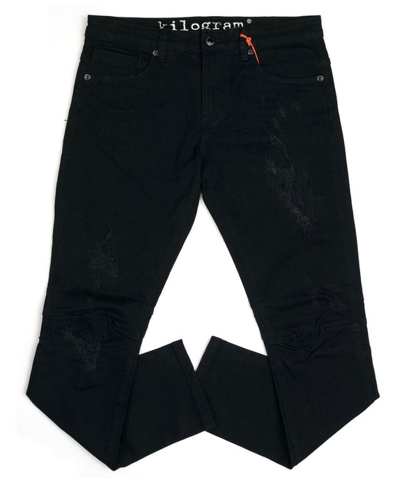 Kilogram Rips Denim (Jet Black)
