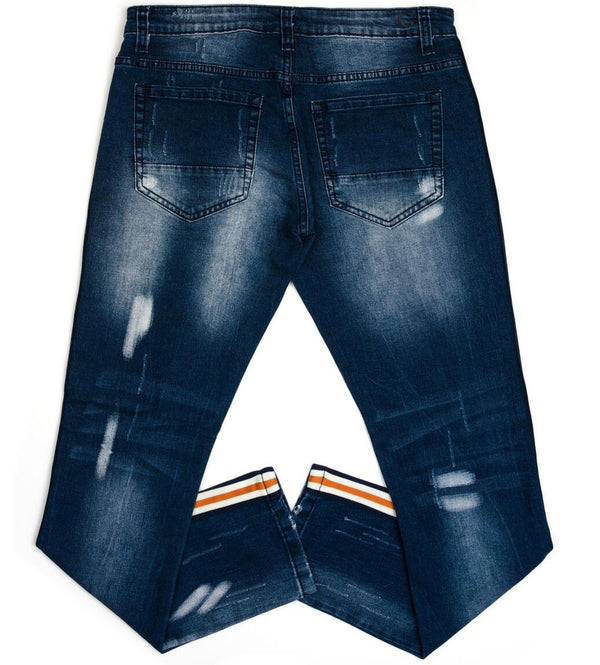 Kilogram BBO M. Blue Denim (Orange/White Stripe)