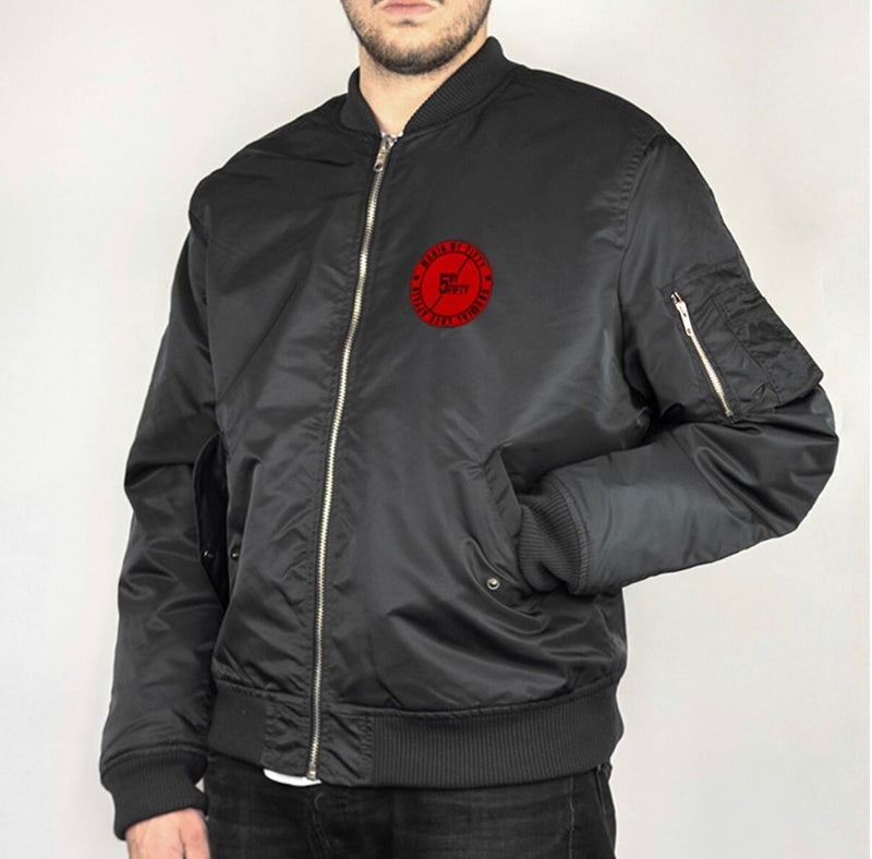 Maria Bomber Danger Jacket (Black)