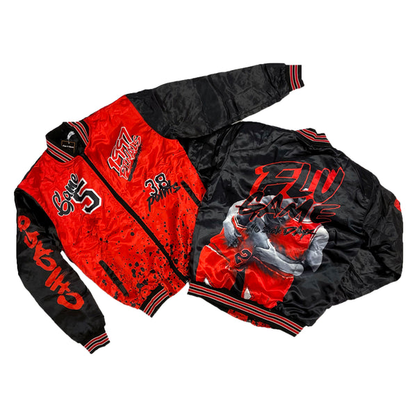 Retro Label No Sick Days Jacket (Retro 12 Flu Game)