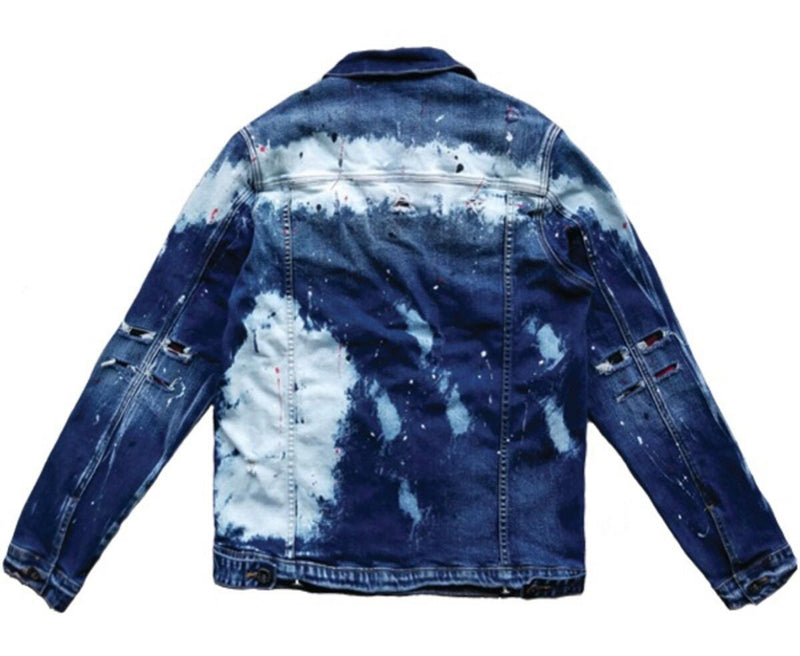 Iroochi Monsuta Denim Jacket (Jan Wash)