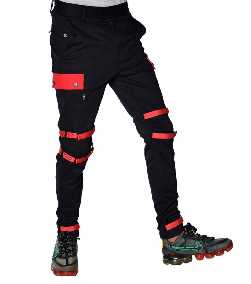 THC Affiliated Cargo Pants Joggers (Black)
