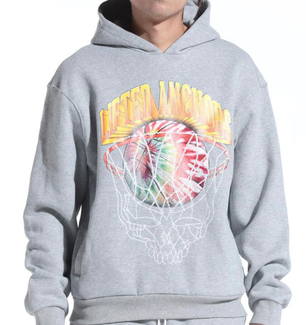 Black Keys Lucky Charm Color Block Sweatshirt (H. Grey)