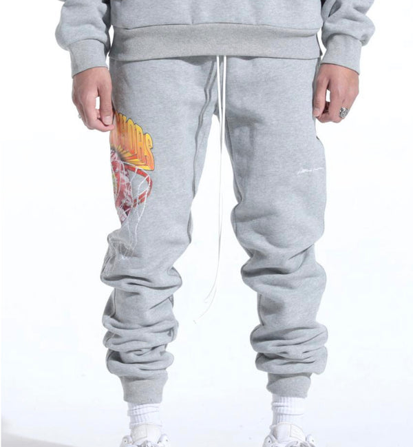 Lifted Anchors Barcelona Sweat Pants (Grey)