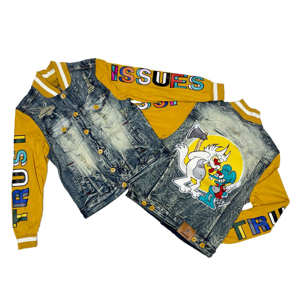 Makobi Trust Issues Denim Jacket