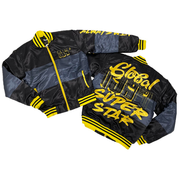 Retro Label Super Star Jacket (Retro 9 University Gold)