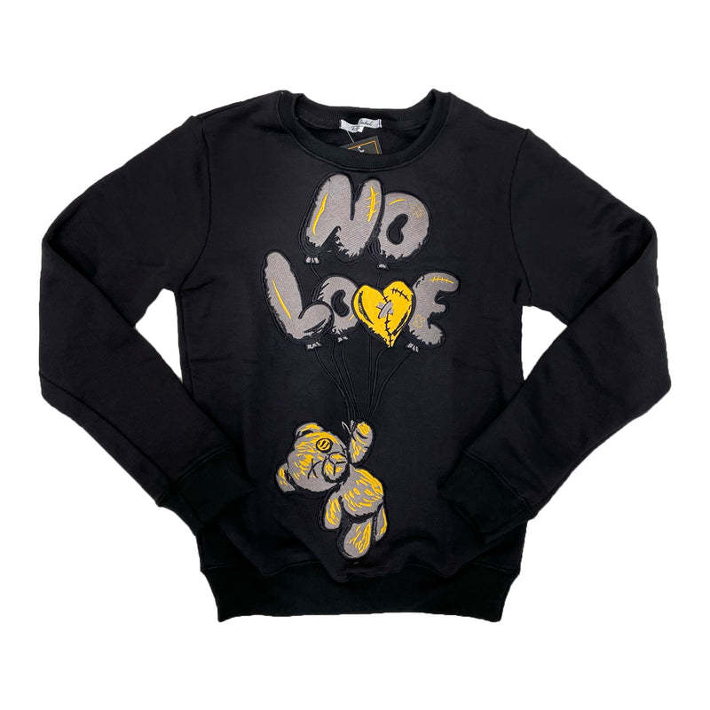 Retro Label No Love Air Crewneck (Retro 9 University Gold)