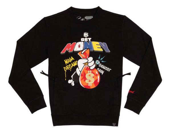 Civilized Get Money Crewneck (Black)