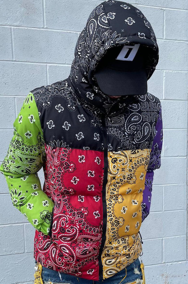 Foreign Brand Endure Bandana Coat (Multi)