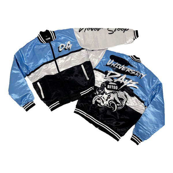 Retro Label University Dayz Jacket (Retro 1 University Blue - UNC)
