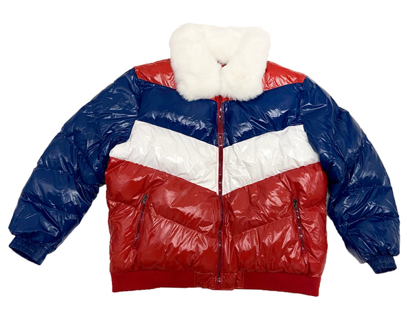 Jordan Craig Big Men's Sugar Hill Nylon Puffer Jacket (Americana)