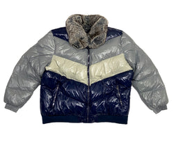 Jordan Craig Big Men's Sugar Hill Nylon Puffer Jacket (London Blue)