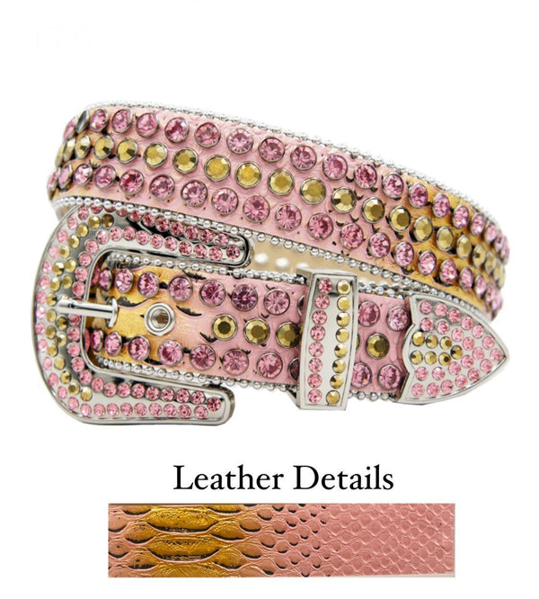 DNA Belt (Pink/Gold Fade/Pink)