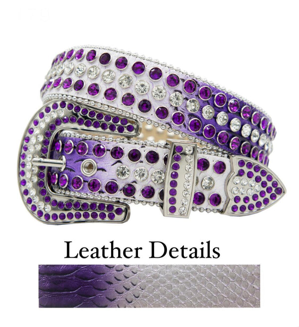 DNA Belt (Purple/White Fade/Purple)