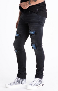 Dead Than Cool Double Jeans (Black)