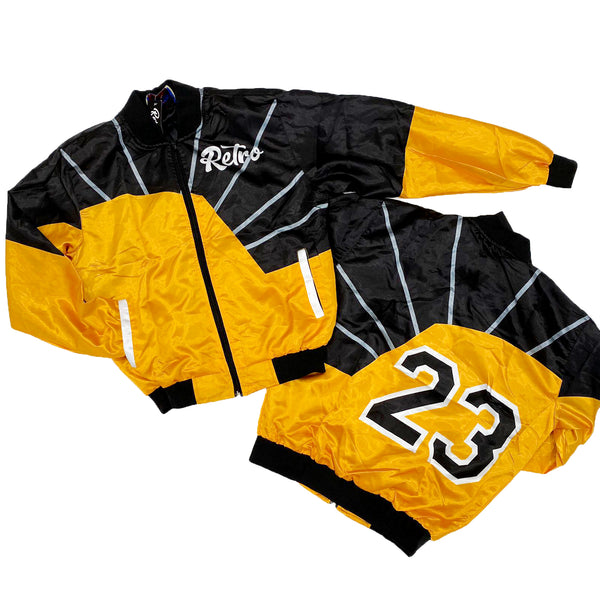 Retro Label Retro 23 Jacket (Retro 12 University Gold)