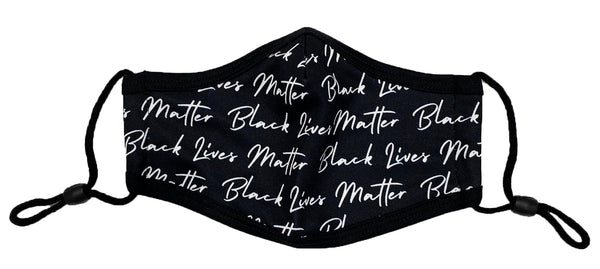 Retro Label Black Lives Matter Mask (All over print)