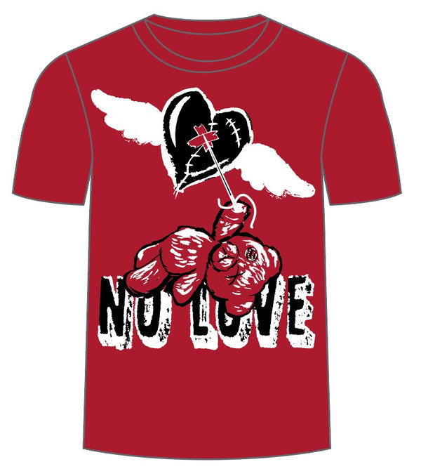Retro Label No Love Shirt (Retro 14 Red)