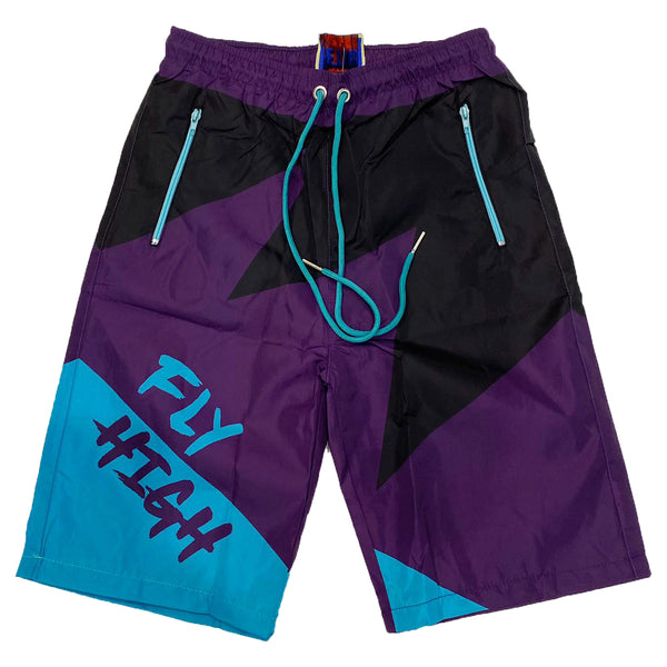 Retro Label Fly High Shorts (Retro 5 Grape)