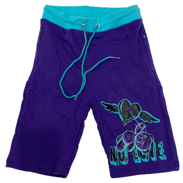 Retro Label No Love Shorts (Retro 5 Grape)