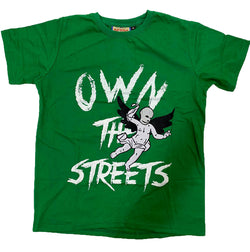 Retro Label Own the Streets Shirt (Retro 13 Lucky Green)