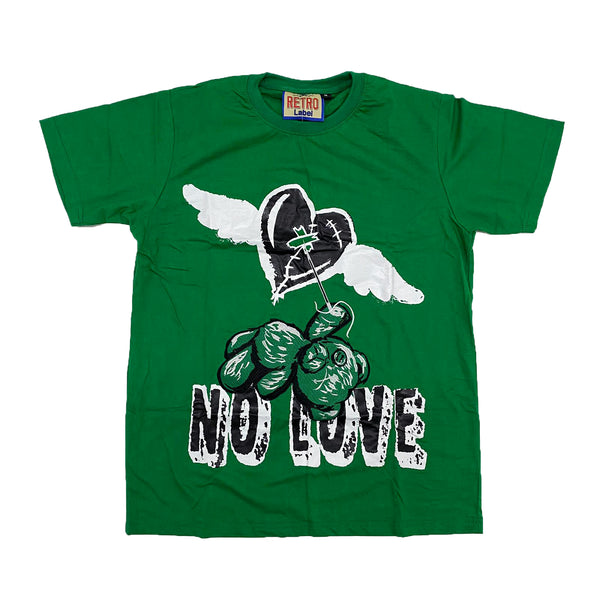 Retro Label No Love Shirt (Retro 13 Lucky Green)